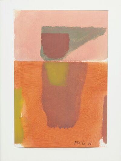 Antonio Freiles, 'SENZA TITOLO', 1986