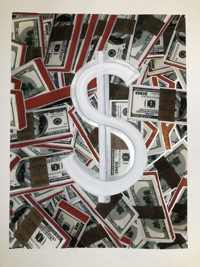 David Gamble, 'The Dollar Sign and Money', 2018