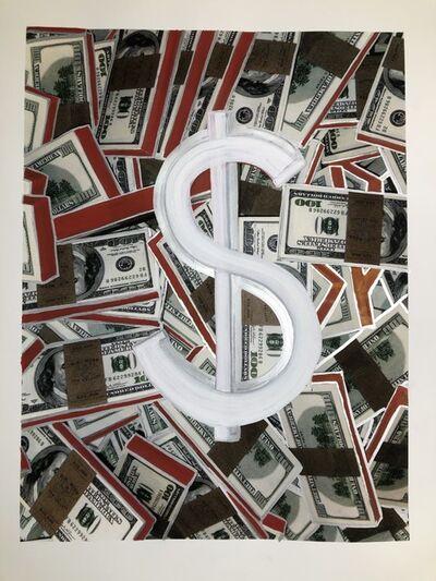 David Gamble, 'The Dollar Sign and Money', 2018
