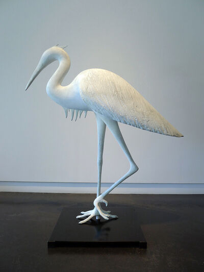 Gwynn Murrill, 'Small Heron 2/6'