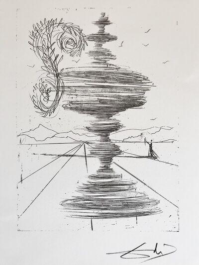Salvador Dalí, 'La fontaine', 1988
