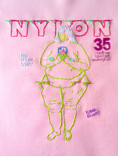 Katy Itter, 'The It Girl Issue (Nylon Cover)', 2020