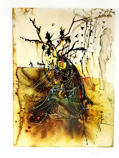 "Salvador Dalí, 'Original Hangsigned Lithograph ""Summer"" by Salvador Dali', 1972"