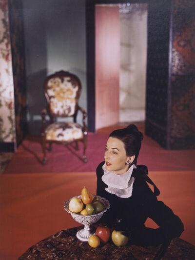 Horst P. Horst, 'Dorian Leigh Wearing a Mark Mooring Dress, Vogue', 1946
