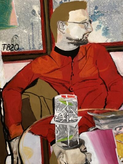 Theodore Buyer, 'Drinks with Ivo', 2020
