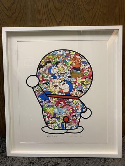 Takashi Murakami, 'Doraemon's Daily Life (Signed & Framed)', 2019