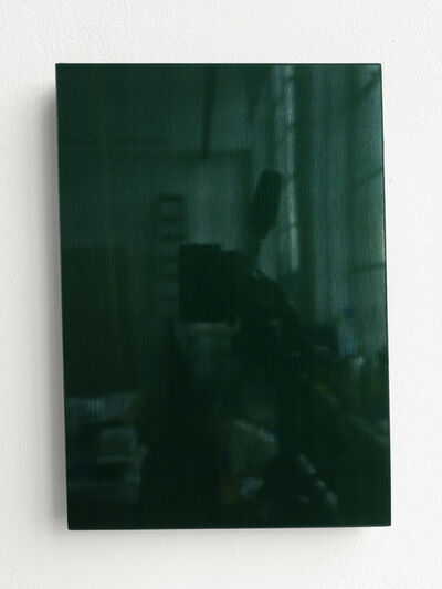 Timo Kube, 'Untitled Silk (in green) #4', 2021