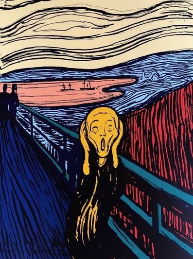 Sunday B. Morning, 'The Scream, Orange (Sunday B. Morning)', 1970-2020