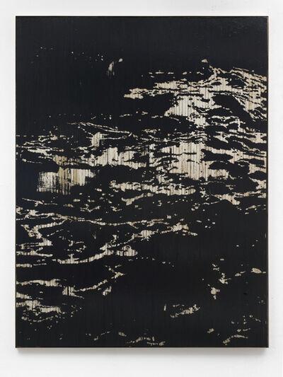 Gregor Hildebrandt, 'Auf dem Wasser schlafend', 2018