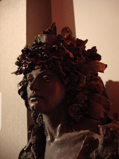 Vera Manzi-Schacht, 'Delphic Muse', Terracotta