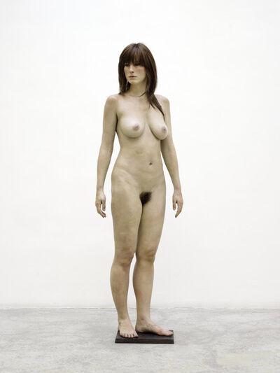 John De Andrea, 'Standing Brunette', 2011