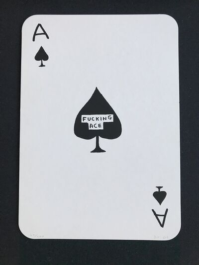 David Shrigley, 'Fucking Ace', 2009