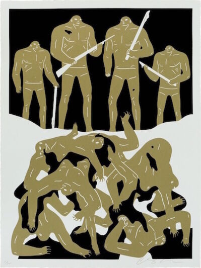 Cleon Peterson, 'The Genocide - White', 2016