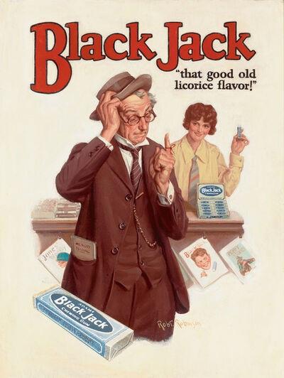 Robert Robinson, 'Black Jack Gum: That Good Old Licorice Flavor!', ca. 1926