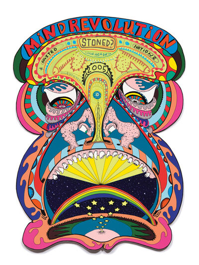 Erik Parker, 'Mind Revolution, from the Exit Art portfolio Tantra', 2005