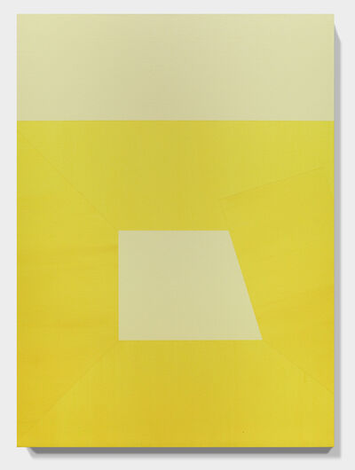 Chad Hasegawa, 'YELLOW Lean on and Against no. 41', 2016