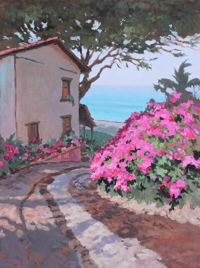 Donna Dickson, 'Bajando a la Playa (Conchas Chinas)'