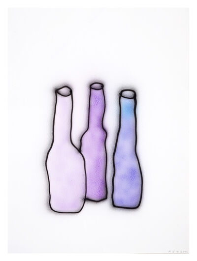Anne-Lise Coste, 'Purple Bottles', 2014