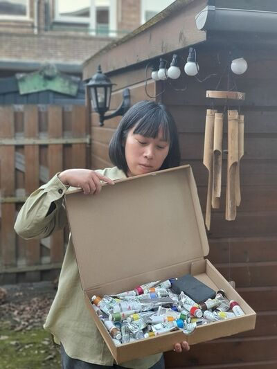 Evelyn Taocheng Wang, 'Paint', 2021