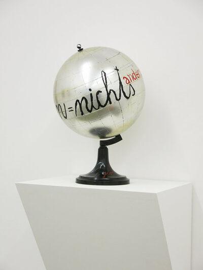 Dimitrije Bašičević Mangelos, 'Hegel globe / Hegel globus, c.', 1977
