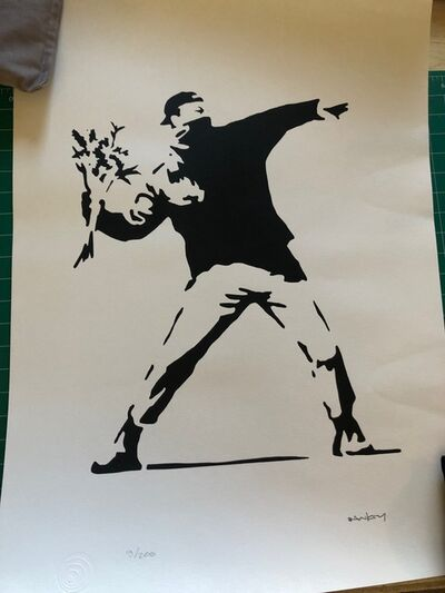 Banksy, 'Flower Thrower', 2016