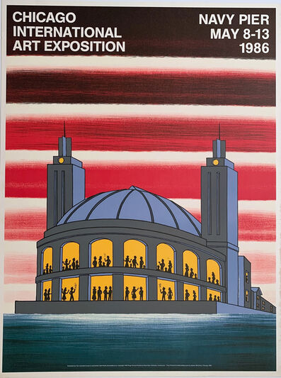Roger Brown, 'Roger Brown Chicago International Art Exposition, Navy Pier, May 8-13 Print, Gallery Poster ', 1981