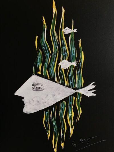 Georges Braque, 'Oedipe Roi: Hébé', 1988