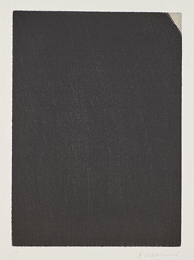 Arnulf Rainer, 'Ecke', 1969