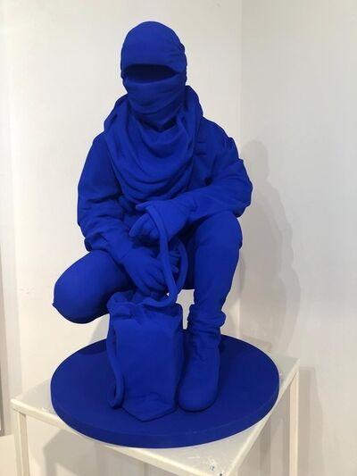 Nuno Viegas, 'Writer I (Blue Klein)', 2019