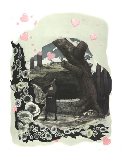 Kerry James Marshall, 'Vignette (Wishing Well)', 2010