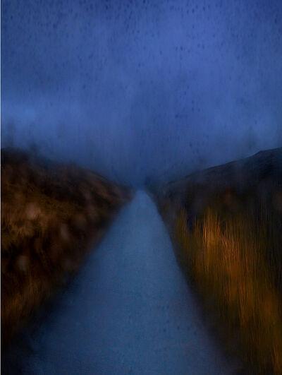 Albert Watson, 'A855 Road Car Headlights', 2013