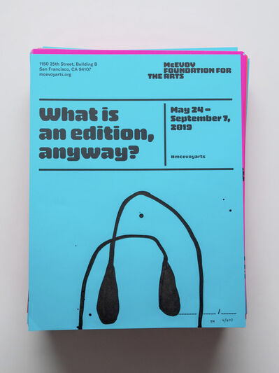 """Tucker Nichols, 'Posters for """"What is an edition, anyway?""""', 2019"""