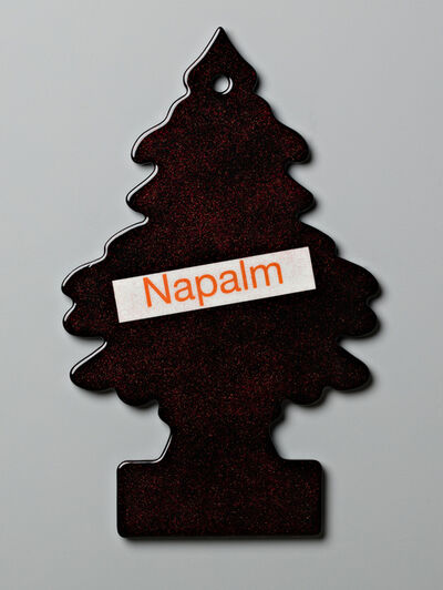 Walter Robinson, 'Napalm - Black', 2017