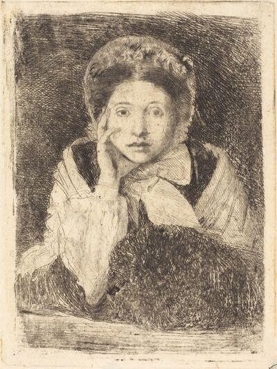 Edgar Degas, 'Marguerite De Gas, the Artist's Sister (Marguerite De Gas, soeur de l'artiste)', ca. 1862/1865