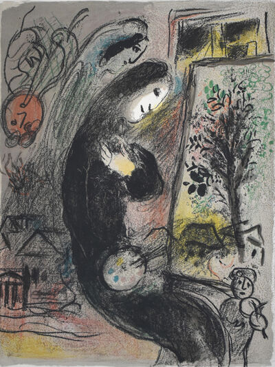 Marc Chagall, 'Inspired | L'Inspiré', 1963