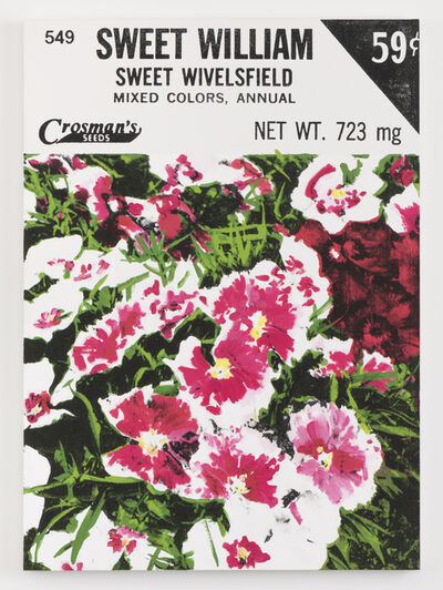 Lucien Smith, 'Sweet William (Seed Packet)', 2021