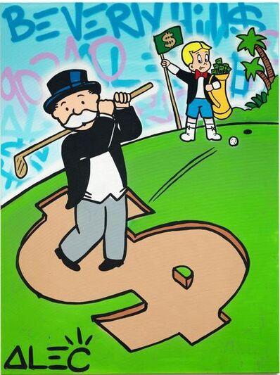 Alec Monopoly, 'Monopoly richie $ golf ', 2020