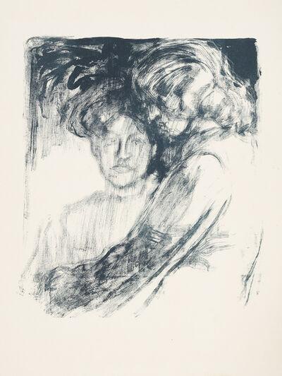 Emil Nolde, 'Junge Mädchen', 1907