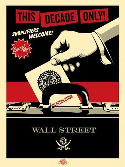 Shepard Fairey, 'Shoplifters Welcome', 2012