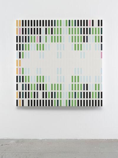 Sarah Morris, 'Deadly Paper Tiger 2 [Sound Graph]', 2018