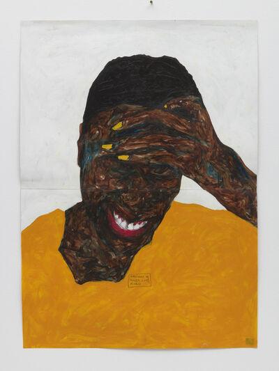 Amoako Boafo, 'Cobinnah with Yellow Nails', 2019