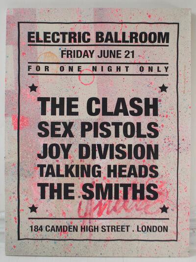 André Saraiva, 'Dream Concert - Electric Ballroom - The Clash', 2018