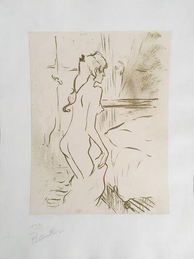 Henri de Toulouse-Lautrec, 'ETUDE DE FEMME', 1893