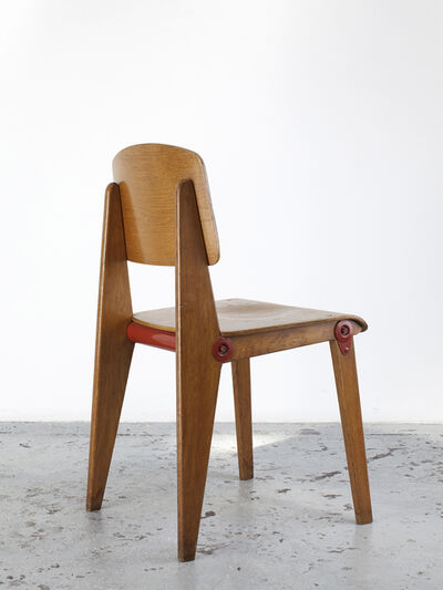 Jean Prouvé, 'Demountable wooden chair CB22', ca. 1950