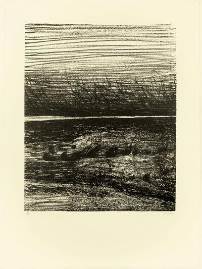 Henry Moore, 'Windswept Landscape', 1973