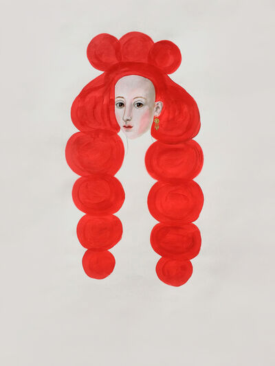Anne Siems, 'Red Hair Drawing', 2018