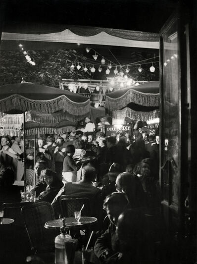 Brassai (Gyula Halasz), 'Bal du 14 Juillet, Place de la Contrescarpe', 1934