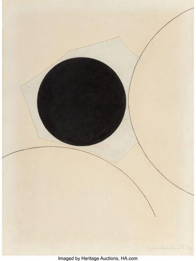 Leon Polk Smith, 'Untitled (Collage)', 1970