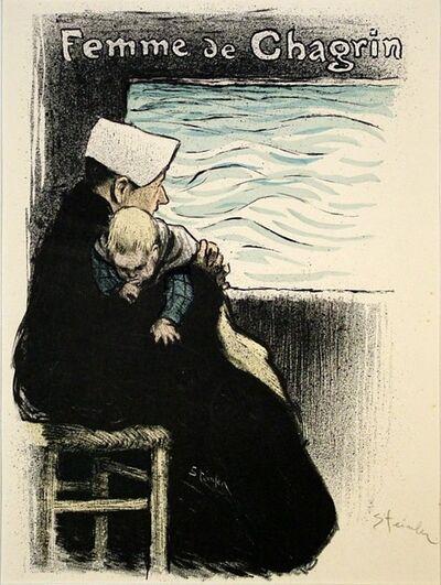 Théophile Alexandre Steinlen, 'Femme de Chagrin', 1894