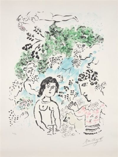 Marc Chagall, 'La Branche verte (The Green Branch)', 1984